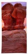 Sunset Over Devils Garden Beach Towel