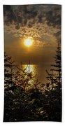 Sunrise Over Lake Huron Beach Towel