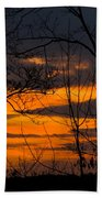 sunset over Suwanee 2010 Beach Towel