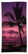 Sunset Palms Beach Towel