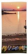 Sunset, Portland, Maine  -07817 Beach Towel