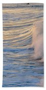 Sunset Ribbons Beach Towel