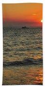 Sunset Ride Cape May Point Nj Beach Towel