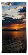 Sunset Ride Beach Towel