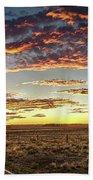 Sunset Road Beach Towel