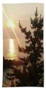 Sunset Scenic Beach Towel