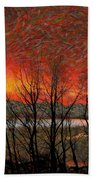 Sunset Soliloquy Beach Towel