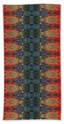 Sunset Strip Tiled Beach Towel