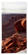 Sunset Tour Valley Of The Gods Utah Vertical 01 Beach Towel