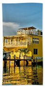 Sunset Villas Hdr Beach Towel