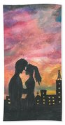 Sunset With You Beach Towel