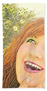 Sunshine And Laughter Beach Towel
