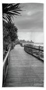 Sunshine Coast Boardwalk  Beach Towel