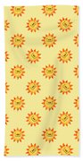 Sunshine Daisy Repeat Beach Towel