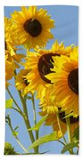 Sunshine Happy Beach Towel