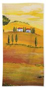 Sunshine In Tuscany In The Morning Beach Towel