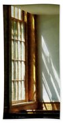 Sunshine Streaming Through Window Beach Towel