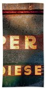 Super 88 Diesel Beach Towel