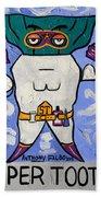 Super Tooth Beach Towel