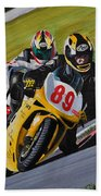 Superbikes Beach Towel