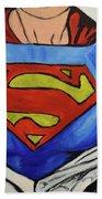 Supergirl Beach Towel