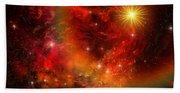 Supernova Beach Towel