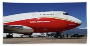Supertanker At Colorado Springs Beach Towel