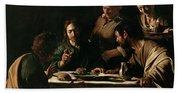 Supper At Emmaus Beach Sheet