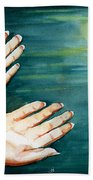 Supplication Beach Towel
