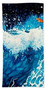 Surfer Girl Beach Towel