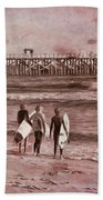 Surfers Three Beach Towel