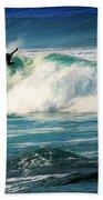Surfing Asilomar Two Beach Towel