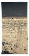 Surfing At Leo Carrillo Beach Beach Sheet