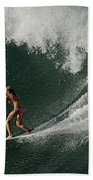 Surfing Hawaii 2 Beach Towel