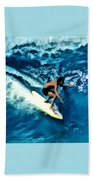 Surfing Legends 12 Beach Towel