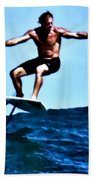 Surfing Legends 5 Beach Towel