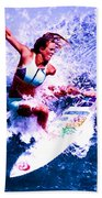 Surfing Legends 6 Beach Towel