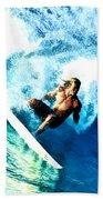 Surfing Legends 9 Beach Towel