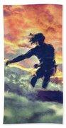 Surfing Beach Sheet