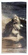 Surfs Up In Socal Beach Towel