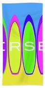 Surfs Up - Jersey Beach Towel