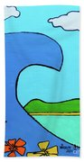 Surf's Up Beach Towel