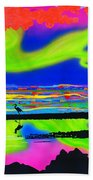 Surfscape Dreaming Beach Towel