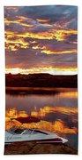 Surise On Lake Powell Beach Towel