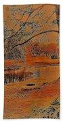 Surreal Langan Park 2 - Mobile Alabama Beach Towel
