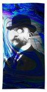 Surreal Satie, The Velvet Gentlemen Beach Towel