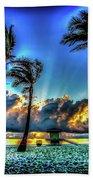 Surreal Sunrise Beach Towel