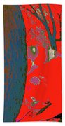 Surrounded 8 Beach Towel