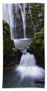 Susan Creek Falls Oregon 4 Beach Towel