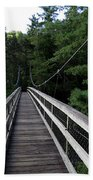 Suspension Bridge 3 Beach Towel